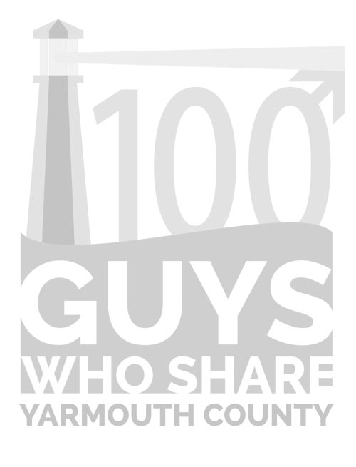 100 Guys Who Share Yarmouth County Logo