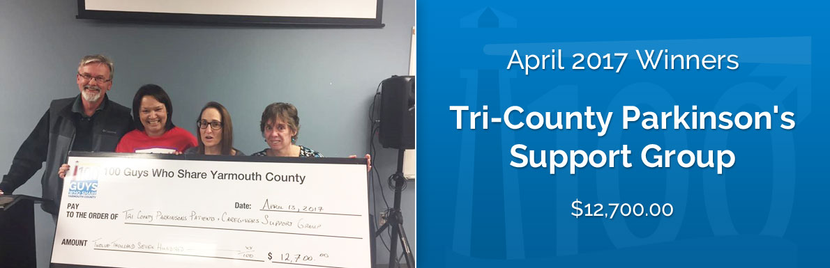April 2017 Winners - Tri-County Parkinson's Support Group