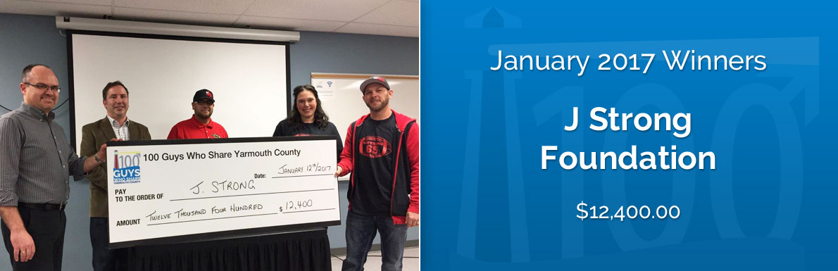 January 2017 Winners - J Strong Foundation