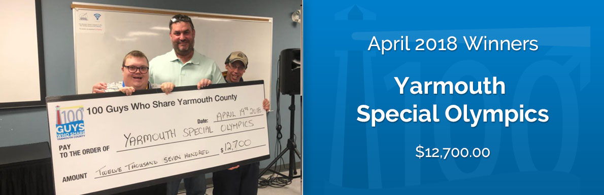 April 2018 Winners - Yarmouth Special Olympics