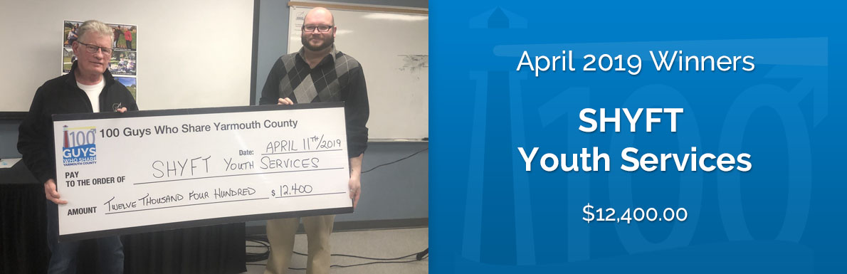April 2019 Winners - SHYFT Youth Services